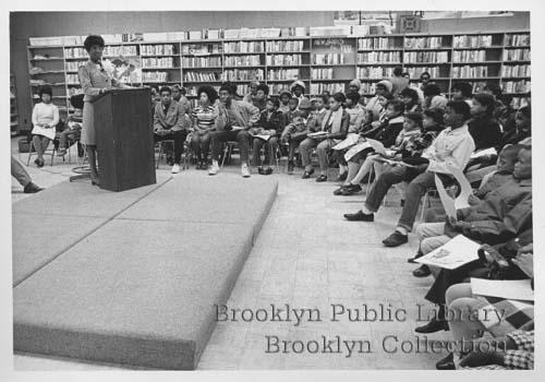 CongresswomanShirley ChisholmBrowerParkLibraryMay1970