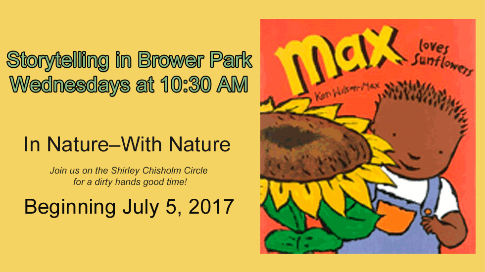 Storytelling Wednesdays in Brower Park